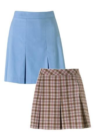 designer box pleat skirt by lancashire schoolwear